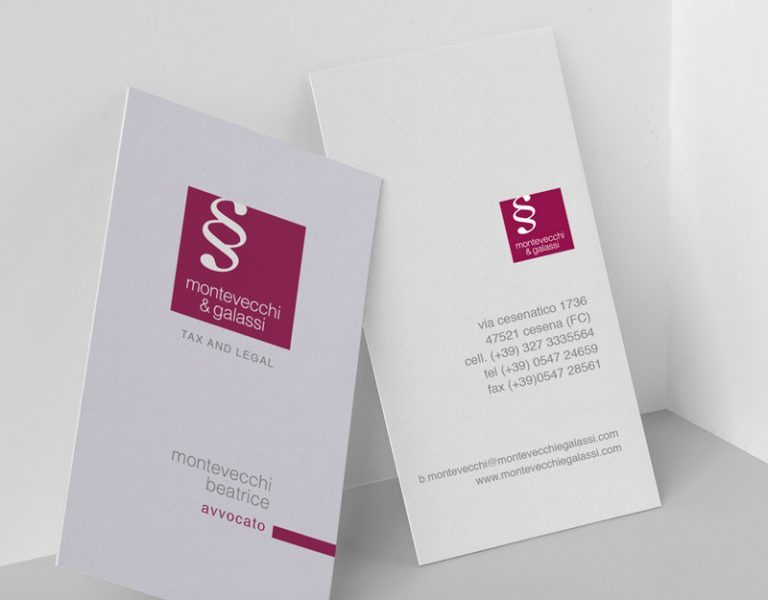 MONTEVECCHI & GALASSI – Rebranding