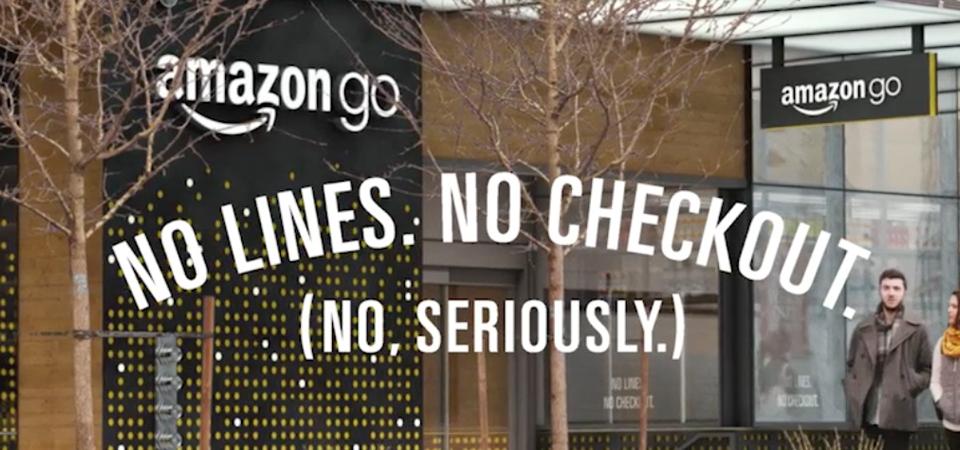 Amazon Go: entri, scegli, esci. È semplice!