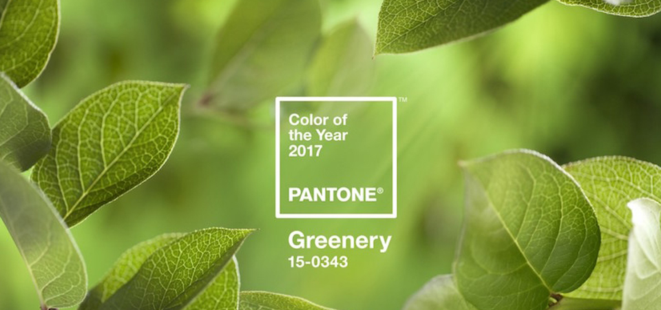 """Il 2017 sarà """"Greenery"""" e profumerà di primavera"""