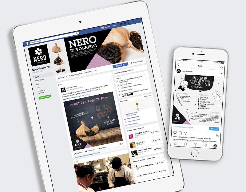 NERO FERMENTO – Awareness & Social Media per l'aglio nero