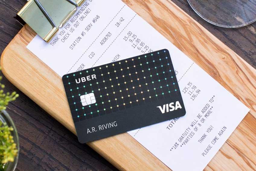4, 3, 2, 1… Uber Visa Card!