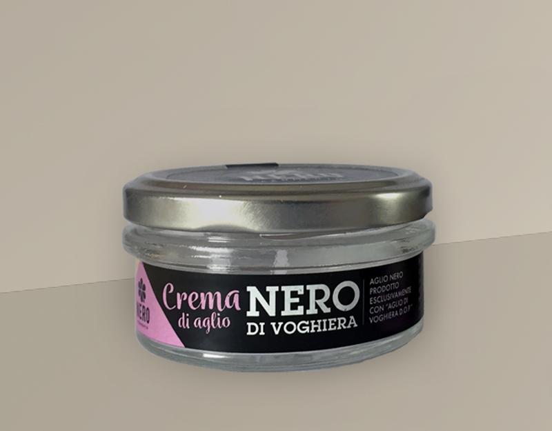 NEROFERMENTO • Packaging per crema e aglio nero sbucciato