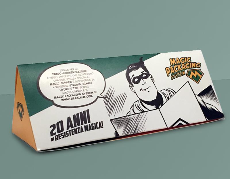 GRAZIANI PACKAGING • Pack Promozionale Magic Corner®