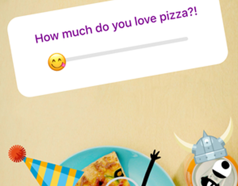 Instagram introduce gli Emoji Slider