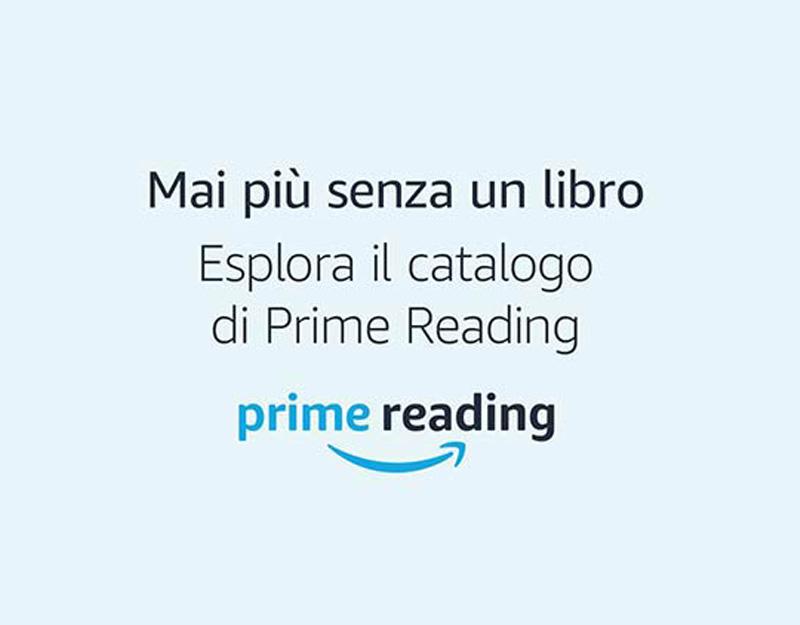 Amazon Prime Reading: libri e fumetti gratis per gli abbonati