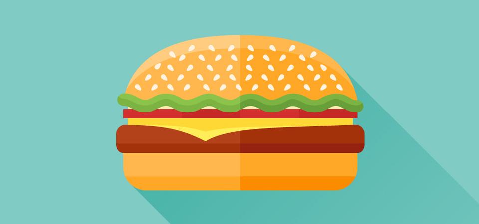 Basta con gli hamburger!