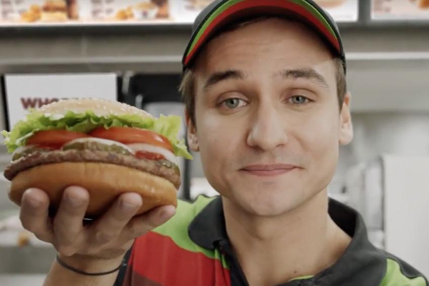 Burger King hackera Google
