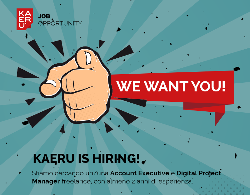 KAERU is hiring!